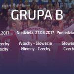 #EuroVolleyM2017, gr. B: Terminarz i wyniki