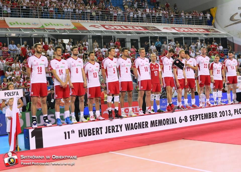 Reprezentacja Polski na podium XXI Memoriału Huberta Jerzego Wagnera