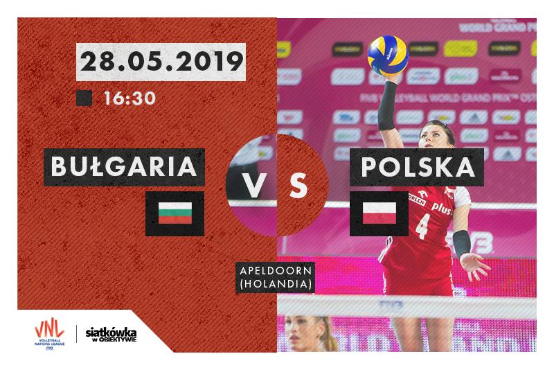 Liga Narodów 2019 Bułgaria - Polska fot. Magdalena Gajek