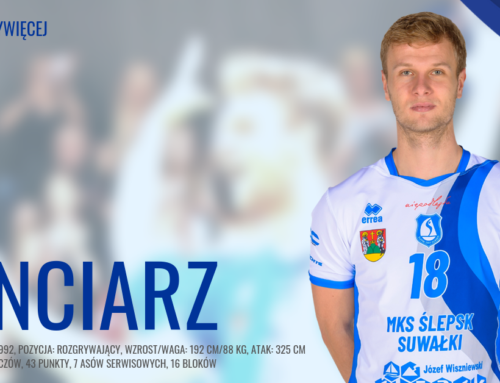 Transfery: Rozgrywający zostaje w MKS Ślepsk Malow Suwałki