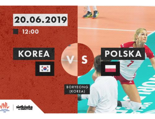 Liga Narodów 2019 (K): Terminarz i wyniki [20.06.2019]