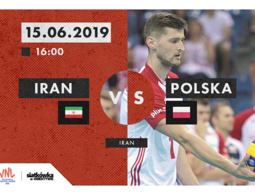 Liga Narodów 2019 (M): Przed meczem Iran – Polska