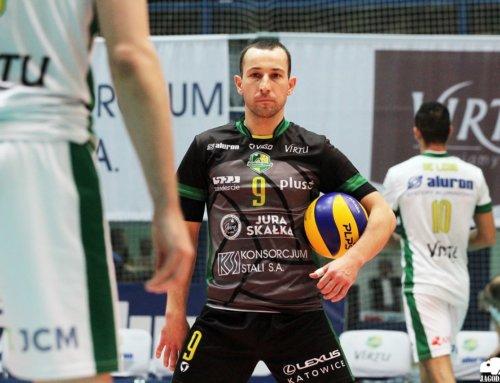 Transfery: Krzysztof Andrzejewski przedłużył kontrakt z Aluron Virtu Wartą Zawiercie