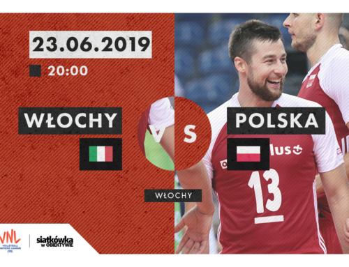 Liga Narodów 2019 (M): Terminarz i wyniki [23.06.2019]