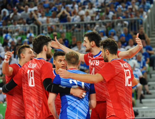 ME 2019 (M): Grupa C: Rosjanie zgarniają trzy punkty, pierwsze zwycięstwo reprezentacji Macedonii Północnej