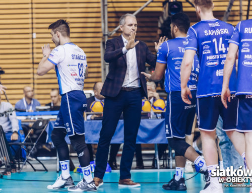 Adrian Stańczak dla s-w-o.pl: Jako beniaminek w tym sezonie na pewno nie spuszczamy głów