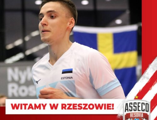 Transfery: Estończyk w Resovii