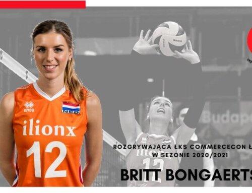 Transfery: Britt Bongaerts dołącza do Łódzkich Wiewiór