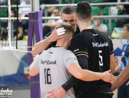 Mecz sparingowy w Elblągu: Trefl Gdańsk 1:3 Ślepsk Malow Suwałki [fotorelacja]
