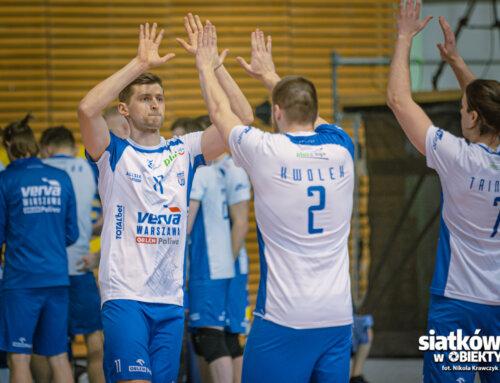 PlusLiga: VERVA Warszawa Orlen Paliwa zwycięża u siebie po ciężkim meczu