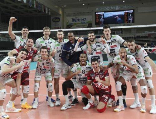 Liga Mistrzów, gr. E: Trentino bez rozgrywających wygrywa po niesamowitym tie-breaku, trzy punkty dla VfB