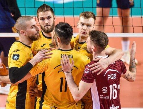 Liga Mistrzów 2020/2021 [M]: Skra nie sprostała Zenitowi