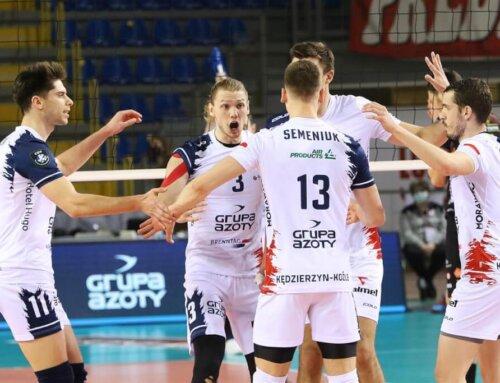 Liga Mistrzów 2020/21 [M]: Zaksa w półfinale Ligi Mistrzów!